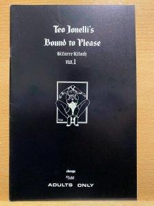 Teo Jonelli's Bound to Please: Bizarre Kitsch, Shunga Comics. 1995. 36p....
