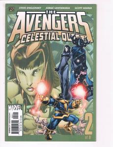 Avengers Celestial Quest # 2 NM Marvel Comic Book Captain America Iron Man S80