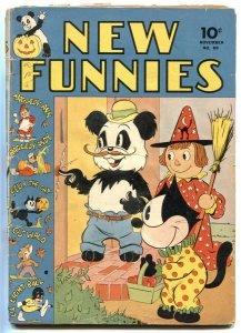 New Funnies #69 1942- Felix the Cat- Dell- G