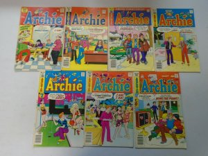 Bronze age Archie comic lot 28 different issues avg 5.0 VG FN
