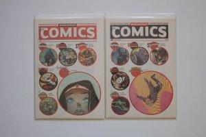 Wednesday Comics 1 - 12 Complete Set DC Comics 2009 Newspaper Series NM