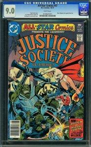 All-Star Comics #67 (DC, 1977) CGC 9.0