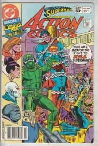 Action Comics #536 (Oct-82) NM- High-Grade Superman