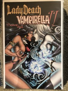 Lady Death v. Vampirella II #0 Preview