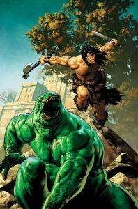 CONAN THE BARBARIAN (2018 MARVEL) #8 VARIANT 1:25 SAIZ PRESALE-07/31
