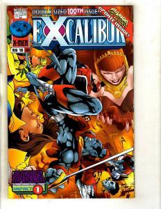 10 Excalibur Marvel Comics # 100 101 102 103 104 105 106 107 108 109 MF7