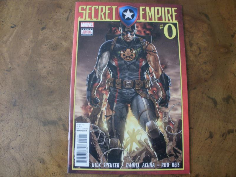 Secret Empire #0 (Marvel) June 2017 Captain America