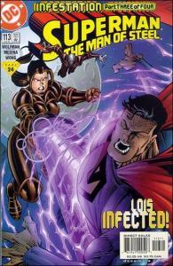 DC SUPERMAN: THE MAN OF STEEL #113 NM