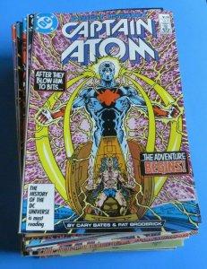 Captain Atom #1-57 W/Annual #1-2 Complete High Grade Set VF/NM-NM/MT 9.0-9.8