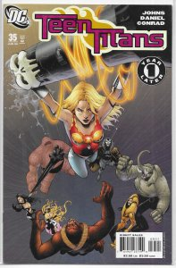 Teen Titans   vol. 3   # 35 VG (1 Year Later) Johns/Daniel
