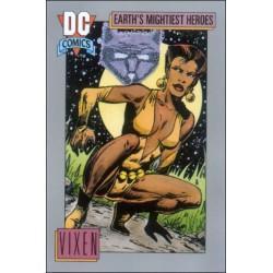 1991 DC Cosmic Cards - VIXEN #77