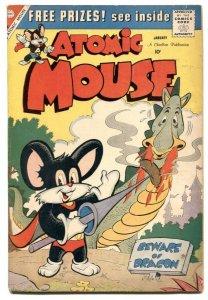 Atomic Mouse #34 1960-Charlton funny animals VG