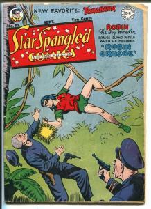 Spar Spangled #72 1947-DC-Robin solo story-Robotman-Tomahawk-FR
