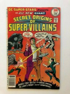 DC Super-Stars presents GIANT SECRET ORIGINS OF SUPER-VILLAINS FINE (A160)