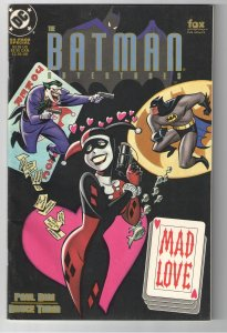 BATMAN ADVENTURES;MAD LOVE 1st PRINT 1994;ORIGIN AND 2nd HARLEY QUINN APP