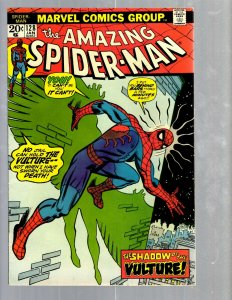 Amazing Spider-Man # 128 VF/NM Marvel Comic Book MJ Vulture Goblin Scorpion TJ1