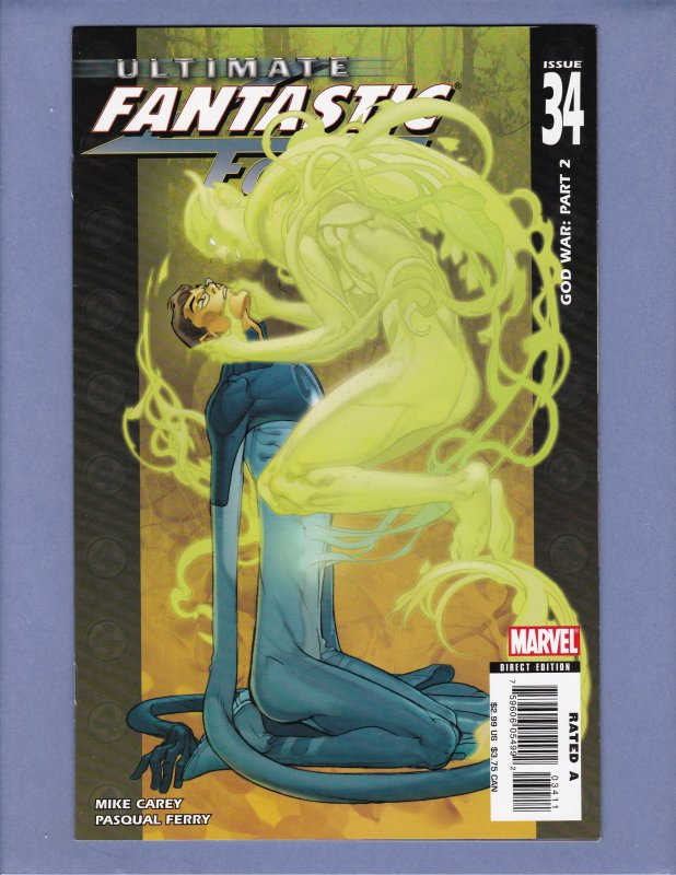 Ultimate Fantastic Four Lot #29 30 31 32 33 34 35 36 Early Marvel Zombies App