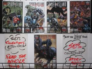 SPIDER ISLAND (Marvel, 2015) #1-5 VF-NM COMPLETE Spider-Man Gage/Diaz