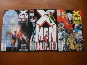 3 Near-Mint Marvel Comic: X-MEN UNLIMITED #3 4 5 Sabertooth Rogue Mystique Storm