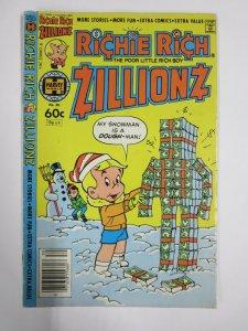 RICHIE RICH ZILLIONS #7 (Harvey, 1/1982) VERY GOOD MINUS (VG-)