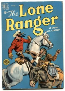Lone Ranger #20 1950- Dell Golden Age Western comic FN-