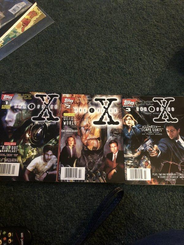 The X-Files Comics 1-3