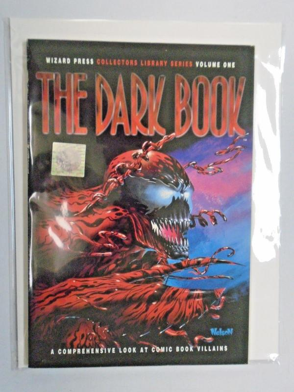Wizard Collectors Library #1 - Dark Book - Carnage - see pics - 6.0 - 1994
