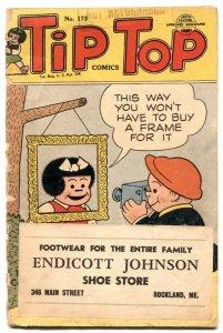 Tip Top Comics #173 1952- 1st PEANUTS- Nancy G