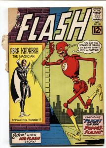 FLASH #133 1962-PUPPET COVER-DC COMICS ROBOT COVER FR/G