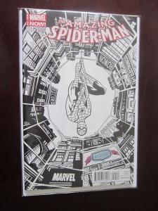 Amazing Spider-Man 3rd Series #1DCBSSKETCH - VF - 2014 - DCBS Variant