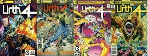 URTH 4 (1989 CO) 1-4  Neal Adams, Trevor Von Eeden