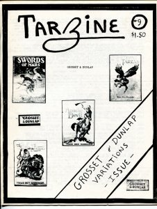 Tarzine #9 3/1983-Weintz-Edgar Rice Burroughs-Tarzan-collector info-FN/VF
