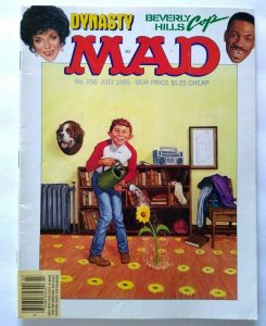 MAD Magazine July 1985 # 256  Beverly Hills Cop Movie Dynasty TV Show Parody