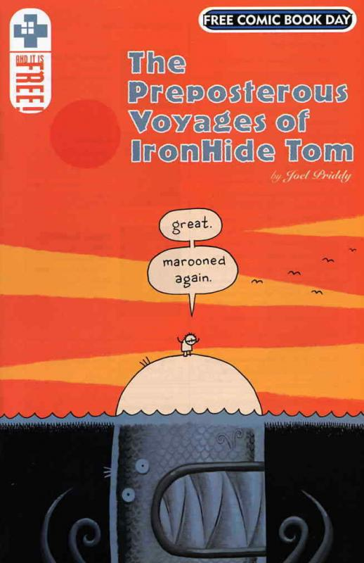 Preposterous Voyages of IronHide Tom, The FCBD #1 VF/NM; AdHouse | save on shipp