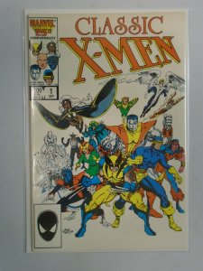 X-Men Classic #1 Direct edition 7.0 FN VF (1986)