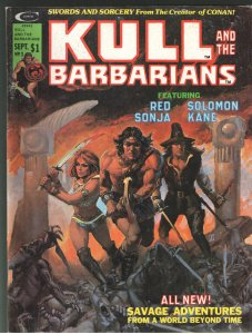 KULL AND THE BARBARIANS #3 ORIGIN RED SONJA!!! MOVIE COMING!