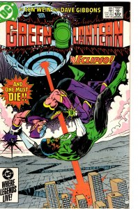Green Lantern #186 (1960 v2) Len Wein Hal Jordan John Stewart NM