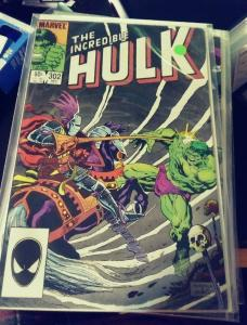 Incredible Hulk  # 302  1984 Marvel crossroads monster hulk mystical  demon ?