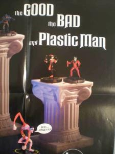 HERO CLIX Promo poster, 17x20, 2002, Unused, more Promos in store, Plastic Man