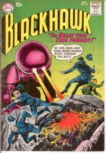 BLACKHAWK 154 G-VG  November 1960 COMICS BOOK