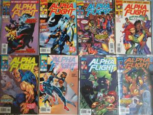 Alpha Flight (Marvel v2 1997) #2-9, 12-15, 19, 20 Xtreme Canadian Superheroes