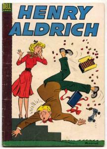 Henry Aldrich #18 1954-rollerskate cover VG