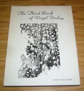 Virgil Finlay HC 3 VF/NM the third book of virgil finlay hardcover 1979 rare