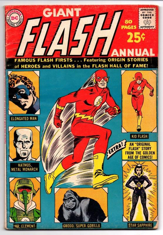 Flash Annual #1 (Summer 1963, DC) - Fine