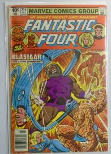 Fantastic Four (1st Series) #215, Newsstand Edition 5.0 (1980)