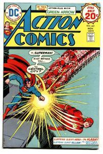 ACTION COMICS #441 1974-SUPERMAN-New KRYPTO issue-Green Arrow