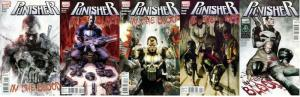 PUNISHER IN THE BLOOD (2010) 1-5  COMPLETE !