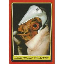 1983 Topps RETURN OF THE JEDI -BENEVOLENT CREATURE #66