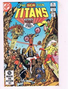 New Teen Titans # 28 VF/NM DC Comic Book Robin Cyborg Raven Terra Beast Boy J47