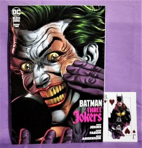 Geoff Johns BATMAN THREE JOKERS #2 G Jason Fabok Variant Cover (DC, 2020)!